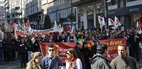 Manifestació del 19 de Febrer a Alacant