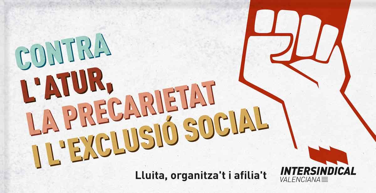 Campanya d'Iv contra la precarietat laboral i per les prestacions socials