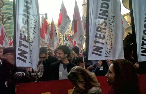 Manifestació del 19 de febrer a València