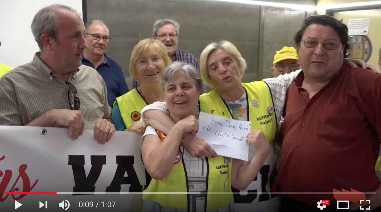Iai@flautes València rep el premi Joan Peiró