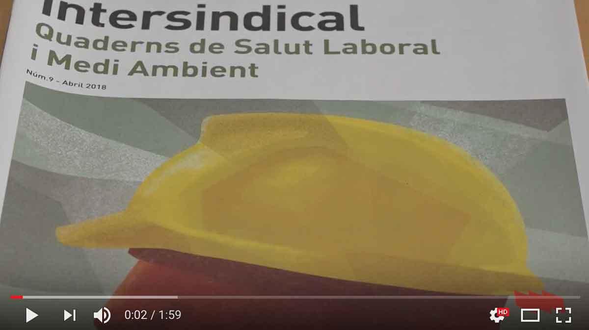 Presentació dels Quaderns de Salut Laboral i Medi Ambient