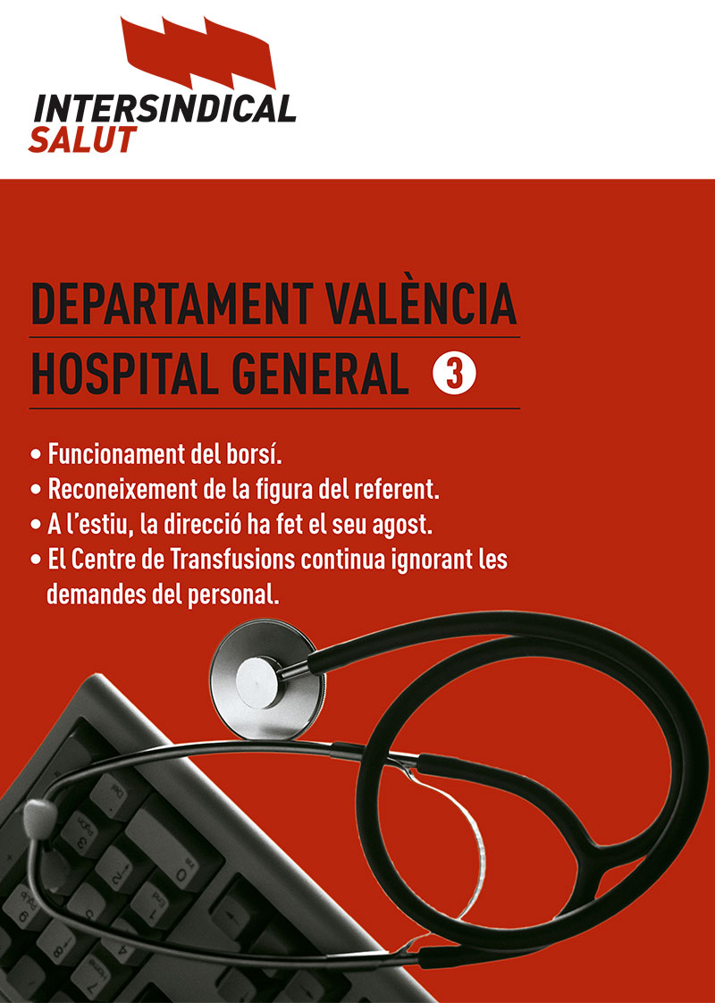 Intersindical Salut. Hospital General 3