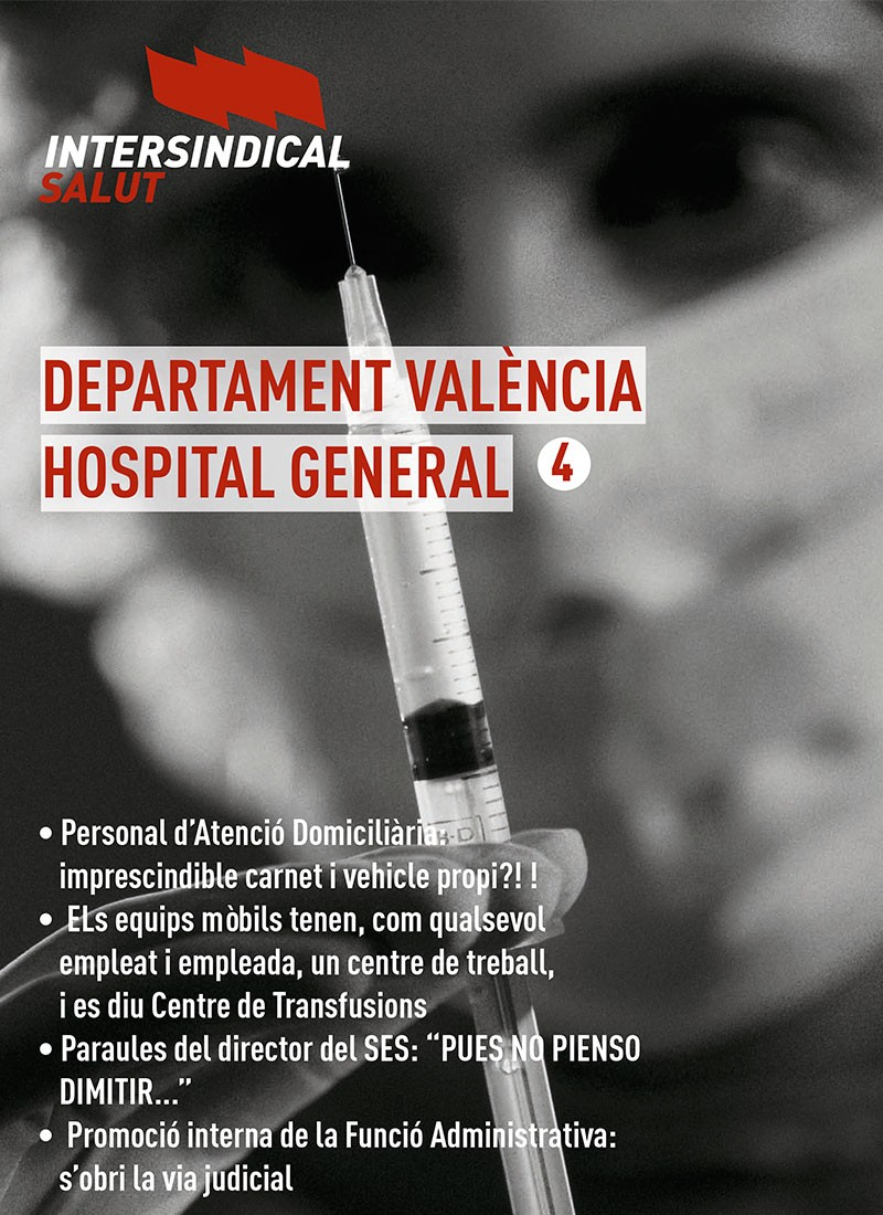Intersindical Salut. Hospital General 4