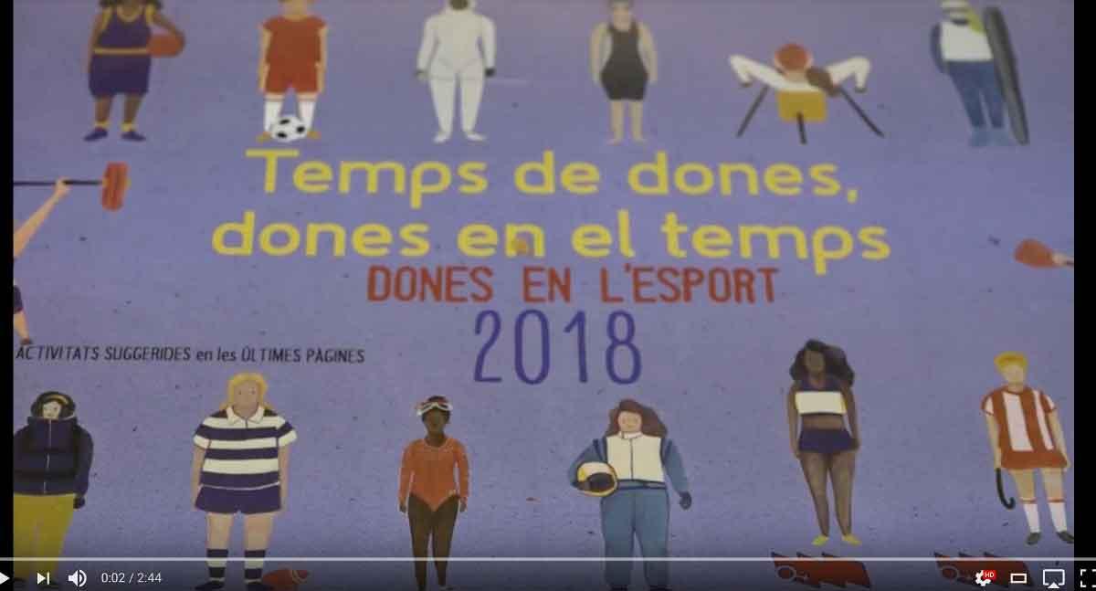 Presentació del Calendari de la Dona 2018: Dones en l'esport