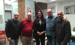 Intersindical, amb la cònsul general de Cuba a Barcelona