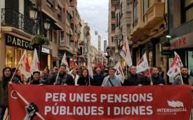 5 de maig, totes i tots als carrers per unes pensions dignes