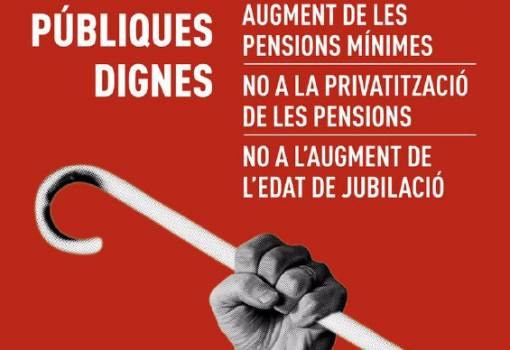 Intersindical Valenciana dóna suport a les mobilitzacions de les persones pensionistes