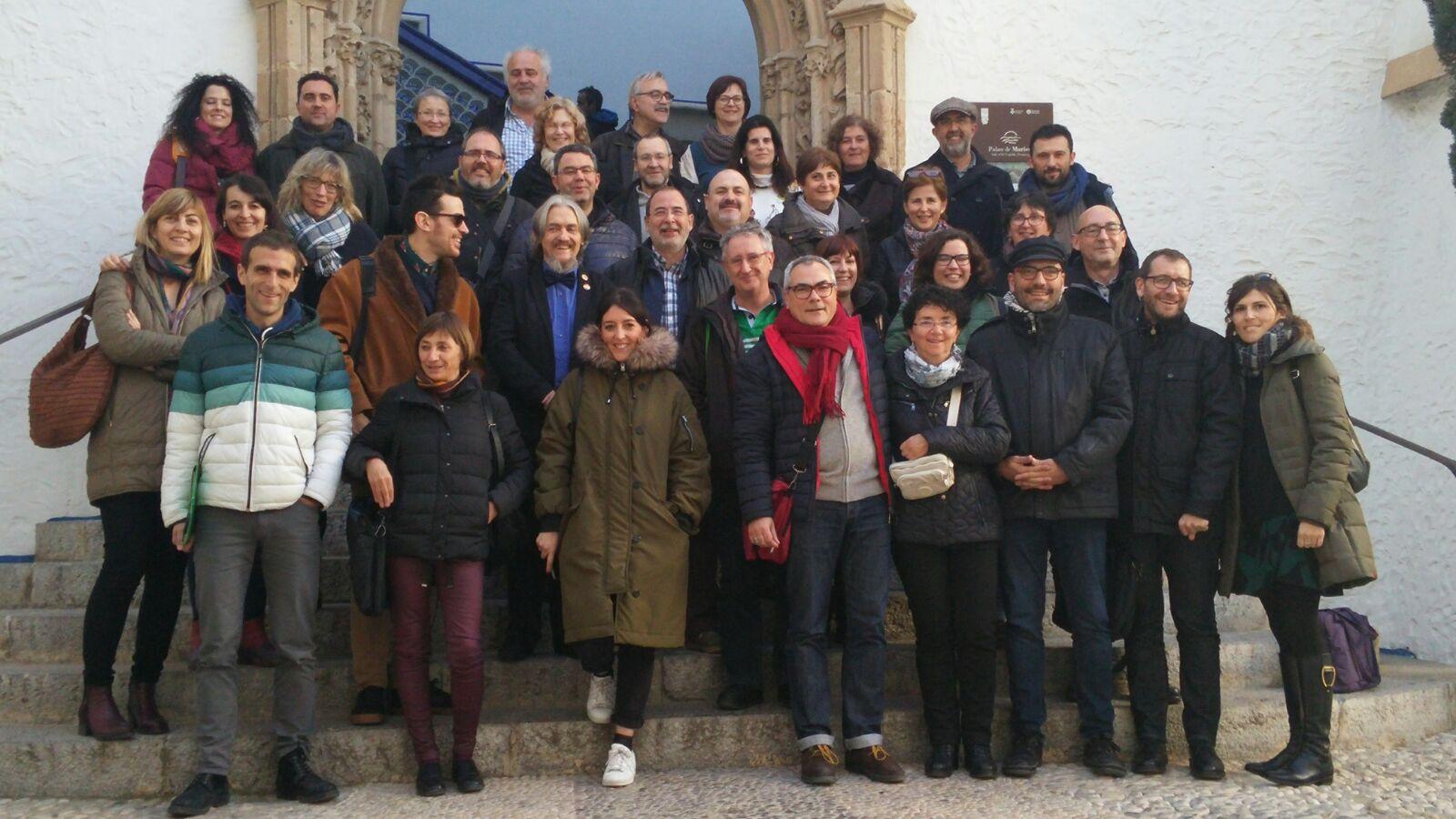 Participants de les jornades a Sitges